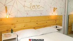 Diy Headboard With Lights, Ceiling Design Living Room, Cardboard Furniture, Diy Interior, Scandinavian Home, Creative Decor, Diy Organization, Zen, Woodworking Plans