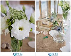 Outer Banks Real Wedding by Five Fish Photography | Venue by Beach Realty | Floral by The Twisted Pearl #NorthCarolinaWedding #destinationwedding