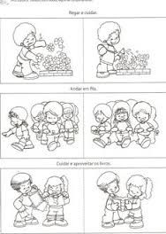 rules in kindergarten Preschool Rules, Preschool At Home, Senses Activities, Activities For Kids, School Clipart, Starting School, School Worksheets, Classroom Rules, Emotional Development