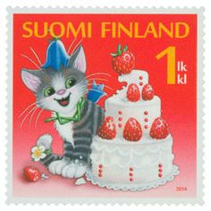 Office Stamps, Cat Clock, Postage Stamp Art, Penny Black, Stamp Collecting, Cat Art, Postcards, Advertising, Collage