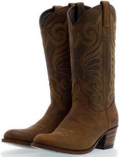 Gold SENDRA Cowboy boots 11578