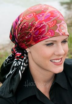 Breast Cancer - Head Scarve