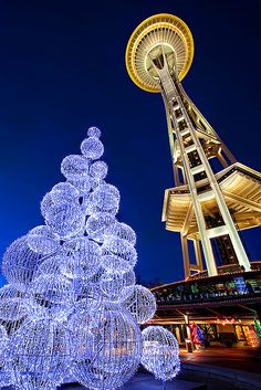 christmas in Seattle -- something to look forward to seeing