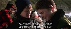"""Compliments come in many forms. 21 Things """"The Goonies"""" Taught Me 90s Movies, Iconic Movies, Good Movies, Movie Tv, Song Quotes, Movie Quotes, Adorable Quotes, Girls Time, Heart For Kids"""