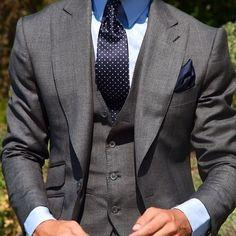 Gorgeous gray 3-piece