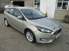 eBay: NEW SHAPE, 2015 FORD FOCUS ESTATE TITANIUM POWERSHIFT AUTOMATIC DAMAGED SALVAGE #carparts #carrepair