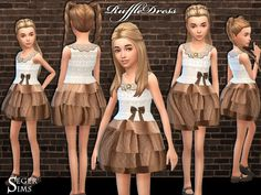 Sims 4 CC's - The Best: Clothing for Women & Girls by SegerSims