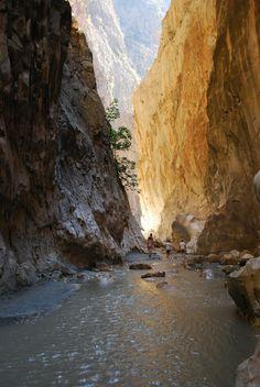 Saklikent Gorge, Kalkan Turkey