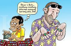 Kartun Benny, Kontan - Maret 2015: Mumpung Rupiah Melemah