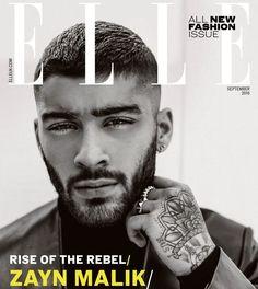 Zayn Malik Short Hair 2016 Elle UK Cover
