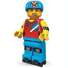 LEGO Roller Derby Girl Minifigure