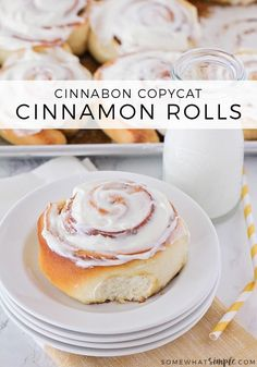 This Cinnamon Roll Recipe is about to change the way you make cinnamon rolls forever! Soft, fluffy and super EASY - they are seriously the best homemade cinnamon rolls in theworld!