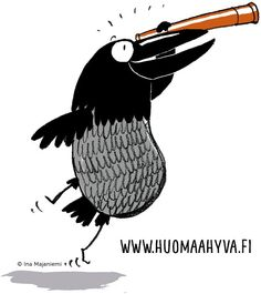 Huomaa hyvä! Social Skills, Kindergarten, Mindfulness, Positivity, Feelings, School, Illustration, Animals, Education