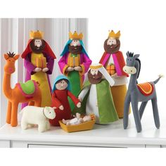 Have to have it. RAZ Imports 15.5 in. Nativity Set - Set of 9