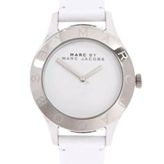 Must have white marc jacobs watch