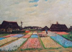 'Bulb Fields' -Vincent van Gogh