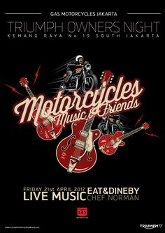 Motorcycles, Music & Friends