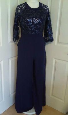 12 skinny lace /& lined pants 14 NWT Baby Blue Vicky Tiel slim 4 Dark Pink