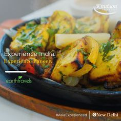 Experience the incredible tastes of India on our one of our India tour!