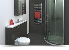 Beautiful Hacienda 1500 Vanity Unit Black Buy Online At Bathroom City