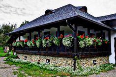 Traditional house in Gura Humorului, Suceava, Bucovina Region, Romania. www.haisitu.ro