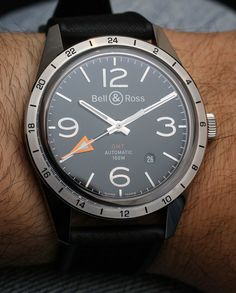 Bell and Ross BR 123 GMT 24H Watch Hands-On