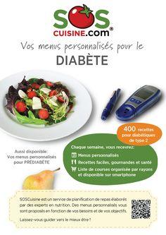 Menus personnalisés pour le diabète - Tailored Meal Plans for Diabetes