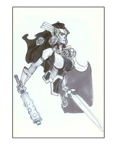 Lady Siff by Eric Canete Comic Art