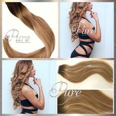 Most Stunning & Extensive Range Of Hair Extensions Caramel Blonde, Caramel Balayage, Caramel Hair, Invisible Hair Extensions, Tape In Hair Extensions, Blonde Foils, Best Ombre Hair, Balayage Ombré, Fresh Hair