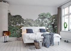 Holt die Kraft der Natur in jeden Raum: Wandbild Bellewood von Rebel Walls #schwedisch #skandinavisch #tapete www.meinewand.de