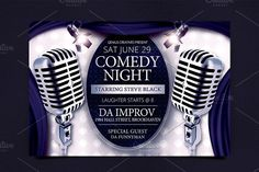 Comedy Night Show Flyer Template