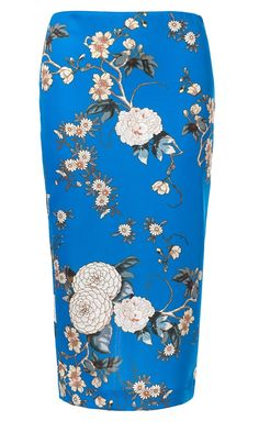 Zara Floral Pencil Skirt, £29.99