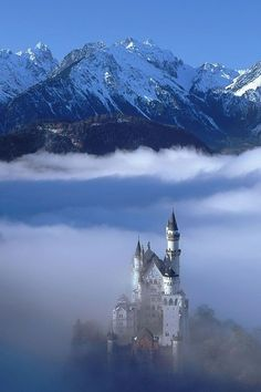 Neuschwanstein Castle, Near Fussen, Bavaria. Lots of fairytale castles in Germany but this one is special. I spent a summer in Fussen and didn't realise this place was just down the road!