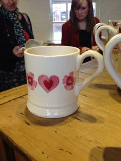 Emma Bridgewater sample mug for collectors day - 18th March 2014