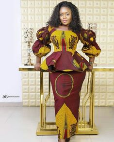 ankara stil Check Out These Current Fashion Trends of 30 Latest Ankara Skirt and Blouse Styles for Ladies - photo African Fashion Ankara, Latest African Fashion Dresses, African Print Fashion, African Prints, Ankara Short Gown Styles, Trendy Ankara Styles, Ankara Gowns, Ankara Dress, Maxi Dresses