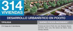 Desarrollo PROCREAR Pocito Santa Lucia, Villa, Explore, Water Well, San Juan, Houses, Fork, Villas, Saint Lucia