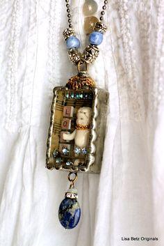 SOLD....Frozen Charlotte silver soldered treasure box. $79.00, via Etsy.