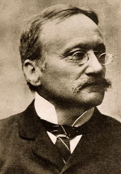 Arrigo Boito (Enrico Giuseppe Giovanni Boito;1842–1918), pseudonym Tobia Gorrio, was an Italian poet, journalist, novelist, librettist and composer, best known today for his libretti, especially those for Verdi's operas Otello and Falstaff, and his own opera Mefistofele. Along with Emilio Praga, he is regarded as one of the prominent representatives of the Scapigliatura artistic movement. Towards the end of his musical career, he succeeded G. Bottesini as director of the Parma Conservatory.