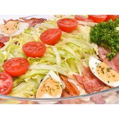 Meniu catering pentru evenimente cu salate proaspete Catering, Cobb Salad, Cabbage, Vegetables, Food, Salads, Veggies, Essen, Cabbages