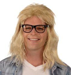 Garth Wig & Glasses