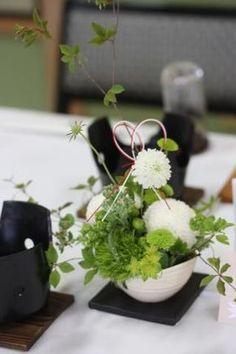 画像 Place Settings, Table Settings, Japanese Table, Japanese Wedding, Japanese Flowers, Table Flowers, Wedding Designs, Wedding Ideas, Flower Designs