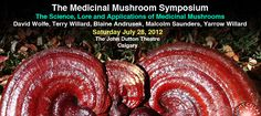 Medicinal Mushroom Symposium Saturday July 28, 2012 at the John Dutton Theatre in Calgary, AB  Join Dr. Terry Willard and David Wolfe both teachers at The BodyMind Institute talk about those fantastic and medicinal mushrooms!
