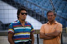 Bernard Tapie et Michel Hidalgo