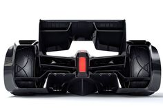 McLaren's MP4-X Formula One concept could be mistaken for a fighter jet
