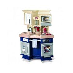 Pretend Play Kitchen Set Kids Little Tikes Super Chef Toys Cooking Playset Fun