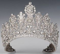 The Luxembourg Empire tiara.