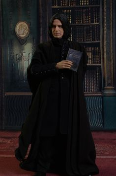 Star Ace Harry Potter Snape sixth scale action figure Snape Always, Alan Rickman Always, Harry Potter Severus Snape, Harry Potter Universal, Hogwarts, Action Figures, Half Blood, Madame Tussauds, Albus Dumbledore