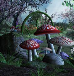 #mushrooms #art
