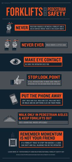 Stop, Look, and Point. This and Other Forklift Safety Tips.