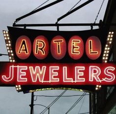 A sign you're in Chicago? Artel Jewelers (Chicago Pin of the Day, 11/4/2014).